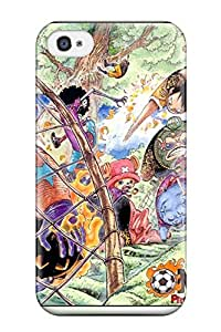4541243K376382304 one piece anime strawhat pirates Anime Pop Culture Hard Plastic iPhone 4/4s cases