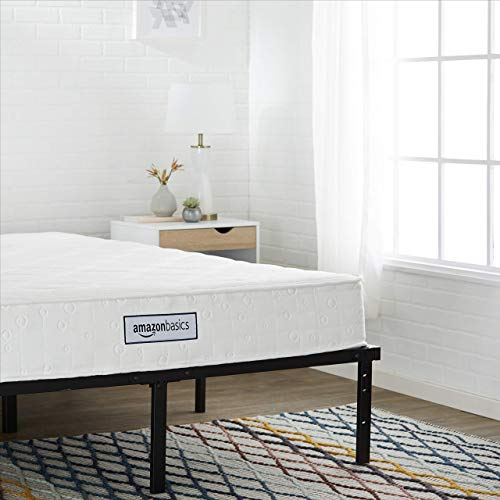 AmazonBasics Coil Mattress - Features High-Density Foam Layer, Reversible - 8-Inch, Full Size