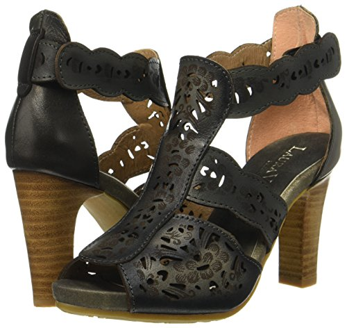Mujer Sandalias 128 noir Noir Vita Albane Negro Laura tqIzTwx