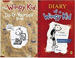 Diary of a wimpy kid 2 vol box set diary of a wimpy kid the wimpy diary of a wimpy kid 2 vol box set diary of a wimpy kid the wimpy kid do it yourself book solutioingenieria Choice Image
