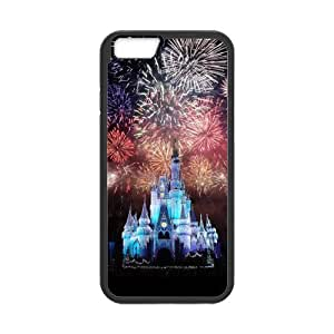 Cute Disney Castle Snap on Case Cover for Personalized Case for iPhone 6 (Laser Technology) Case 4.7 inch Screen iPhone -01