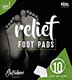Foot Pads: NEW Foot Patch, Premium All Natural, Organic with 10 patches-Sleep Better, Feel Better & give your Body Relief