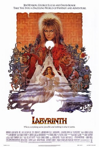 Labyrinth POSTER Movie (27 x 40 Inches - 69cm x 102cm) (1986)