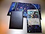 Professional Holographic Matte Black 100 Pack Card