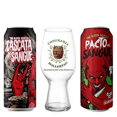 Cervejas Demonho Cascata Sangue Hallertau