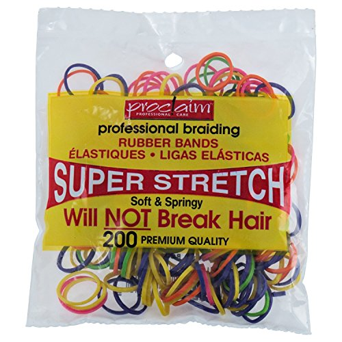 Proclaim 200 Assorted Brights Rubber Bands