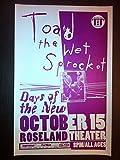#9: Toad The Wet Sprocket Glen Phillips Rare Original Portland Concert Tour Poster