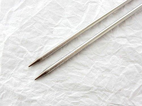 Sakai Takayuki Professional Tempura Chopsticks(Stainless Steel), w/Wooden Handle (300mm/11.8'')