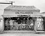 7up 10 soda - OnlyClassics 1939 BOO KOO HAMBURGER STAND HARLINGEN TEXAS 8X10 PHOTO 7up Soda Sign DINER CAFE TX
