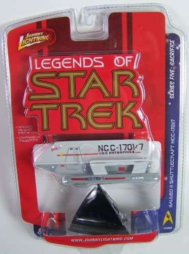 Johnny Lightning Legends of Star Trek Galileo II shuttlecraft ncc-1701//7 111114