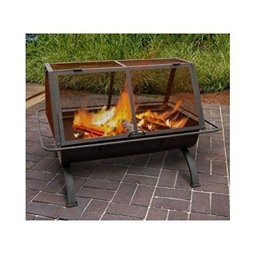 Outdoor Fireplace Fire Pit Wood Burning Chiminea Portable Heater Patio Yard Home Best Selling Item (Fireplace Patio Place And)