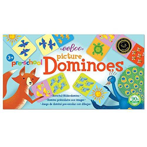 Domino Cards - eeBoo Pre-School Picture Dominoes