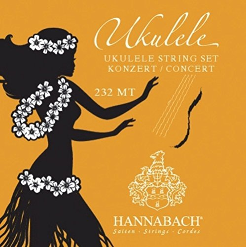 Hannabach 232 MT Concert Ukulele Set (GCEA) Nylon