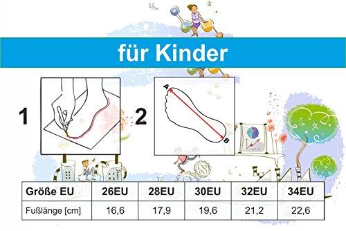 Krexus Badeschuhe Badelatschen Schwimmbadschuhe Für Kinder Valencia Gr. 26-34 EU Türkis