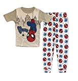 Marvel Spider-Man Little Boys Toddler 2 Pc Cotton Pajama Set (4T)