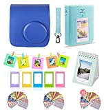 Polaroid Accessories. Polaroid Camera PIC-300 Instant Film Bundle, 9 PC Kit Includes: Polaroid Case + Strap + Photo Album + Standing Album + Wall Hanging Frames + 60 Stickers + 5 Frames, Gift Set