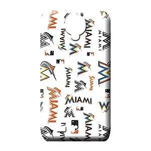 samsung galaxy s4 Brand Durable For phone Fashion Design mobile phone shells miami marlins mlb baseball