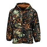 TrailCrest Men's Sherpa Lined Camo Hooded Jacket, 3X