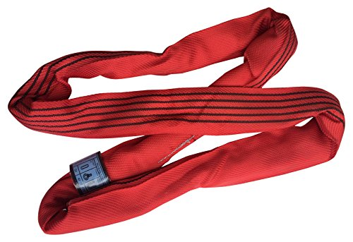 8 Tonne Lifting Round Sling Strop Lengths from 2mtr to 6mtr EWL Available EN1492 CE 2mtr EWL