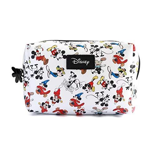 Taolela Make-up Bag Girl Women Cosmetics Case Mickey Mouse Pencil Stationery Cartoon Storage Handbag - Mickey Mouse Stationery