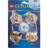 LEGO Legends of Chima Set #850779 Minifigure Accessory Set [Lennox, Razcal, Ewar & Winzar]