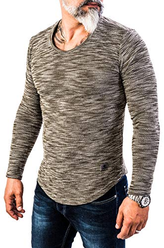 Kaki Manches Longues Creek Rock Sweat shirt Homme qHxtYq0wI