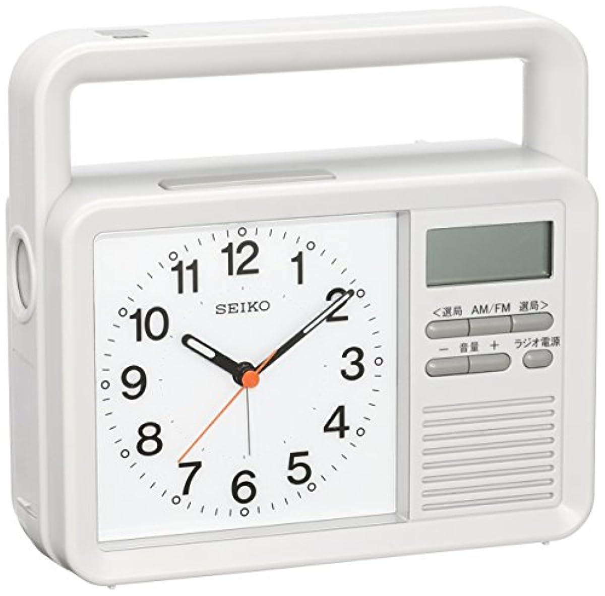 [해외] 세이코 라디오 시계 아날로그 KR885N