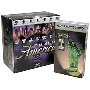 Ken Burns' America Collection (Brooklyn Bridge/The Statue of Liberty/Empire of the Air/The Congress/Thomas Hart Benton/Huey Long/The Shakers) [VHS]