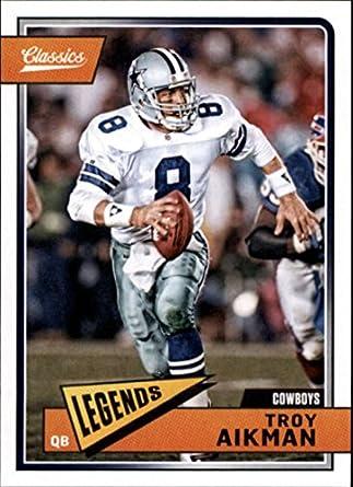 b0d0280446c Amazon.com: 2018 Panini Classics #118 Troy Aikman Cowboys Legend ...