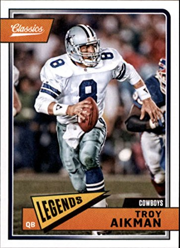 2018 Panini Classics #118 Troy Aikman Cowboys Legend Football ()