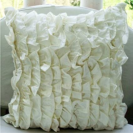 Amazon The HomeCentric Designer Ivory Pillow Covers Victorian Amazing Victorian Pillows Decorative