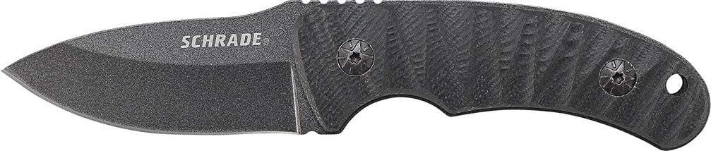 4. Schrade SCHF57 6.3in Fixed Blade Knife
