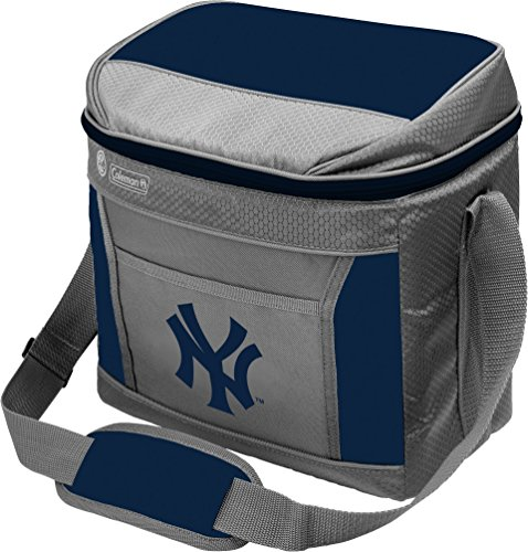 (MLB Unisex Coleman 24 Hour - 16 Can Soft Sided Cooler - New York Yankees)