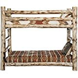 Montana Woodworks Collection Bunk Bed, Twin, Ready to Finish