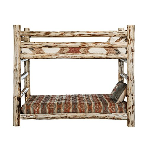 Collection Bunk (Montana Woodworks MWBBN Montana Collection Bunk Bed, Twin, Ready to Finish)