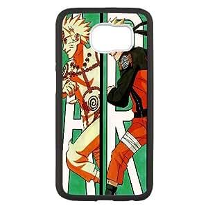 B7H78 naruto naruto shippuuden anime boy X3C4HB funda Samsung Galaxy S6 caso del teléfono celular Funda Cubierta Negro AI2SOI2OM