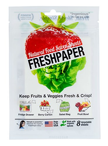 Fresh Herb Towels (Fenugreen FreshPaper Produce Saver Sheets, 2-Pack)
