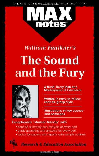 Sound and the Fury, The  (MAXNotes Literature Guides)