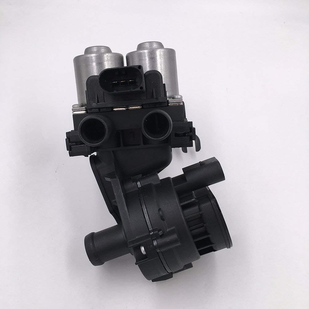 FCGV Valve For Audi A6 S6 Quattro New Hvac Heater Control Valve Water 4F1959617B-Black