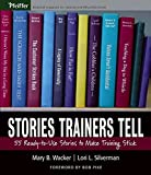 Stories Trainers Tell: 55 Ready-to-Use Stories to Make Training Stick (Book only)