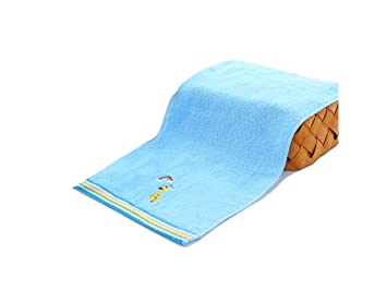 PanpA Animal de Dibujos Animados Bordado Kid Soft Wash Face Towel Absorbente Absorbente Toalla de Mano