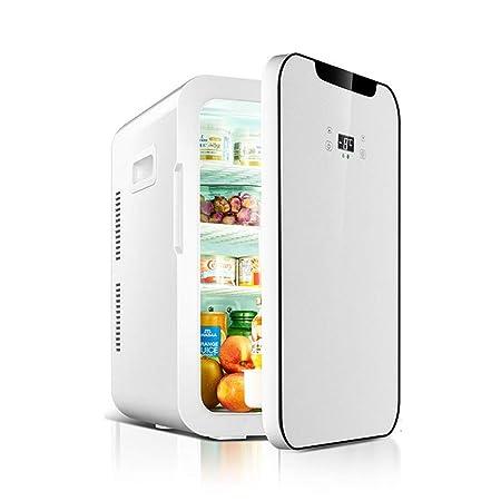 Mini refrigerador Refrigerador compacto de 22 litros Calentador ...