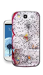Kristyle Creative Dragon Fruit TPU Phone Case for Samsung S3
