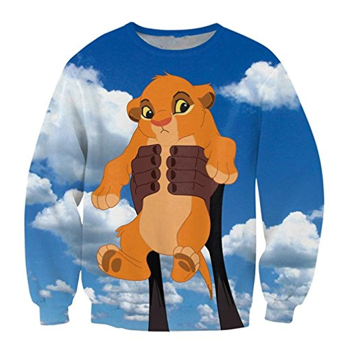 Simba Crewneck Sweatshirt Crewnecks Jerseys T-Shirts ()
