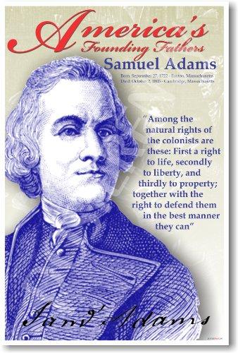 America's Founding Fathers: Samuel Adams - Classroom Poster