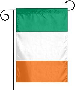 Bargburm Ireland Flag Small Garden Flag Vertical Double Sided Yard Outdoor Decor 12 X 18 Inch