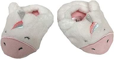 New Carter/'s Soft Unicorn Girls Slippers Shoes NWT M 7 8 L 9 10 XL 11 12
