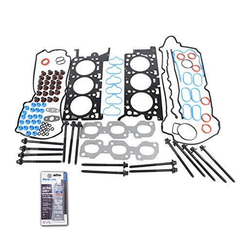 Head Gasket Set Bolt Kit Fits: 04-06 Ford Taurus 3.0L V6 DOHC 24v DURATEC Cu.181