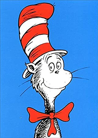 Amazon the cat in the hat dr suess birthday card office the cat in the hat dr suess birthday card bookmarktalkfo Choice Image