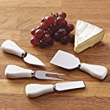 Heart of America 4 Assorted Cheese Knifes - 8 Pieces